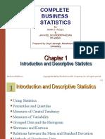 Chap001-Introduction and Descriptive Statistics