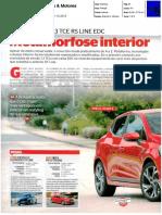 """NOVO RENAULT CLIO 1.3 TCe EDC R.S. LINE NA """"CARROS & MOTORES"""""""