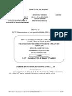 Cps Rc Bdp - Alimentation Eau Potable Louha-pdut 65-11