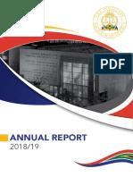 Judiciary Report 2018 - 2019