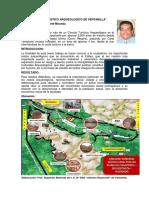 Circuito Turístico Arqueológico de Ventanilla, Carlos Villafuerte