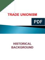 Trade Unionism - 2016 Batch