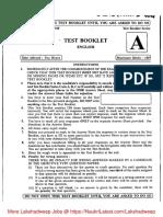 Lakshdweep LDC Previous Papers