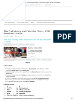 The Trail History and Civics