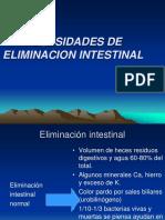 Clase 11-Necesidades de Eliminacion Urinaria Intestinal