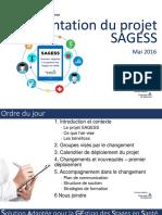 Presentation Du Projet SAGESS