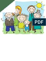 REVISION- CLASA PREGATITOARE My family