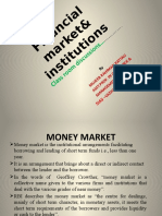 Financial Market Institutions