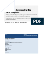 IC Construction Budget 8531 V1