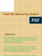 Trash Bin Monitoring System