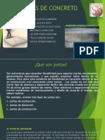 JUNTAS DE CONCRETO PPTX