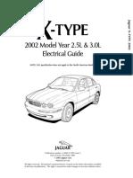Jaguar X-Type 2002 Electrical Guide