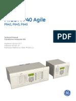 P643 relay manual