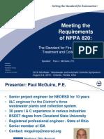 Seminar Slides on NFPA