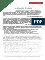 Industrialização No Brasil
