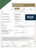 Certificado UL Delta Plus