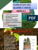 Contaminacion Del Suelo Grupo 5 2019