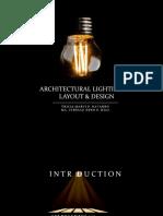 architectural design lighting