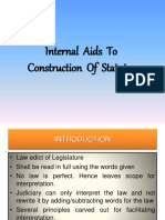 PPT_Internal Aids to Construction of Statutes.pptx
