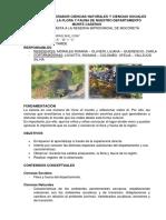 Proyecto Integrador Ciencias Nturales y Ciencias Sociales