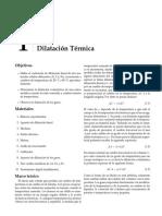 Laboratorio Física, termodinámica