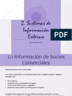 Sistemas de informacion Externo