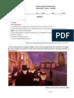 SEQUÊNCIA 111crónica, Interpretação de Imagens e Mixórdia de Temáticas_Português 9º Ano