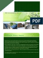 ACE Solar Water Heater