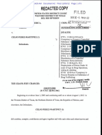 Celso Perez Indictment