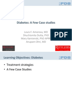 Diabetes Case Studies