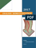 DISEÑO SISMICO - ESTATICO
