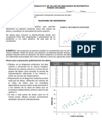 1°medio_N°8_ DIAGRAMAS DE DISPERSIÓN