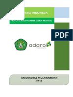 Proposal Pengajuan Pkl Di Pt. Adaro Indonesia