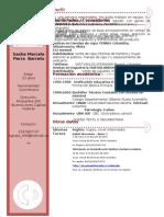 Curriculum Vitae Marcela Parra Barreto