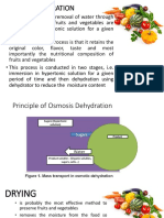 Osmotic Dehydration