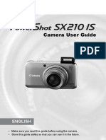Canon SX210 User Guide