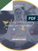 Cele trei ingrediente-cheie pentru un corp ideal