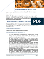 Whats New in CADWorx 2019 SP2 HF 1