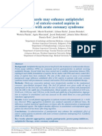 6.- Pantoprazole May Enhance Anti Platelet