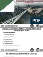 Clase 02 Criterios de Seguridad y Cargas Laterales
