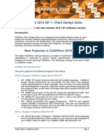 Whats New in CADWorx 2019 SP1