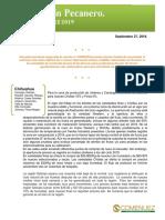 Boletin Pecanero Septiembre 2019