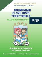 Programma Sviluppo Territoriale Attivita Di Base Metodologia