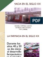 La Farmacia en El Siglo Xx