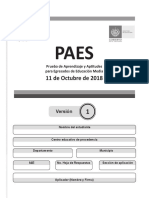 PAES 2018-2013