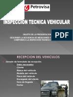 INSPECCION TECNICA VEHICULAR