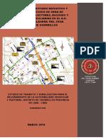 Informe Estudio de Impacto Vial-sedapal Chorillos