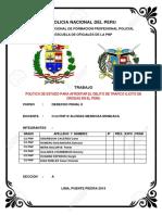 POLITICA DEL ESTADO PERUANO CONTRA EL TRAFICO ILICITO DE DROGAS