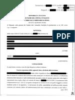 Tribunale di Roma sentenza del 29.5.2019