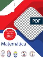 Matemáticas 2020 umsa medicina y tec. Medica